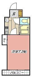 アクス敷島21[102号室]の間取り
