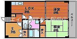 上杉第3ビル野田[3階]の間取り
