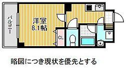 愛知県名古屋市千種区星ケ丘2丁目の賃貸マンションの間取り