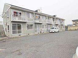 岡山県岡山市北区田中の賃貸アパートの外観