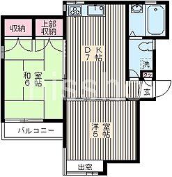 738−鷺宮ハイツ[2階]の間取り
