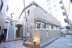 神奈川県横浜市中区山下町の賃貸アパートの外観
