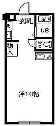 サンケイマンション第6ビル[307号室]の間取り