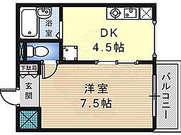ステージ村田83階Fの間取り画像