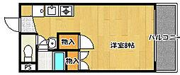 兵庫県神戸市西区大津和2丁目の賃貸マンションの間取り