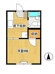 近藤アパート[1階]の間取り