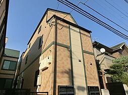 東京都新宿区西落合3丁目の賃貸アパートの外観