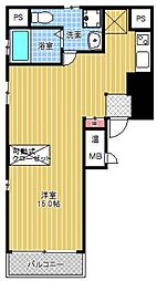 HF東心斎橋レジデンス[701号室号室]の間取り