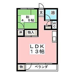 杉江レジデンス[4階]の間取り