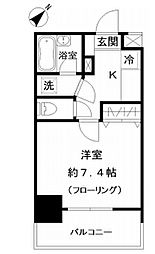 フォレシティ白金台[9階]の間取り