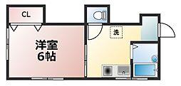 公園造住マンション[2階]の間取り