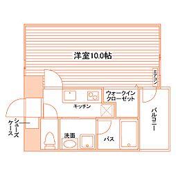 Casa Felice(仮称:春日町学生マンション)[LN702号室]の間取り