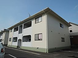 福岡県行橋市大字下津熊の賃貸アパートの外観