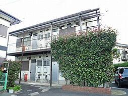 滋賀県大津市国分1丁目の賃貸アパートの外観
