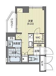 愛知県名古屋市名東区にじが丘1丁目の賃貸マンションの間取り
