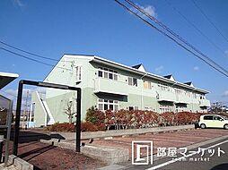 愛知県みよし市三好丘桜1丁目の賃貸アパートの外観