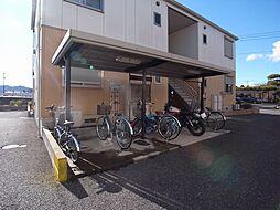 ミルティーユ弐番館[2階]の外観