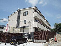 京都府京都市伏見区深草大亀谷東久宝寺町の賃貸アパートの外観