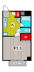 ボナール八雲[3階]の間取り