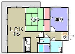 翔21[3階]の間取り