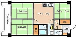 第1元木ビル[5階]の間取り