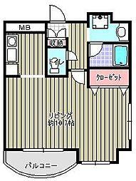 アンソレイユISHII[601号室]の間取り
