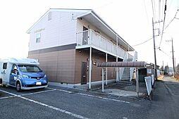 栃木県鹿沼市上殿町の賃貸アパートの外観