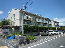 大阪府富田林市寺池台2丁目の賃貸アパートの外観