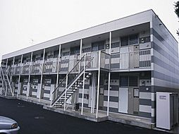 千葉県松戸市大橋の賃貸アパートの外観
