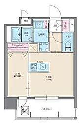 イクシオン美野島[8階]の間取り