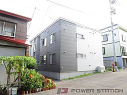 北海道小樽市稲穂4丁目の賃貸アパートの外観
