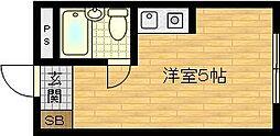フューチャー1号館[2階]の間取り