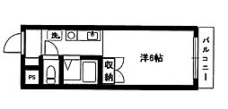 パークサイド石坂[5階]の間取り