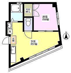 コ−ポタナカ[3階]の間取り