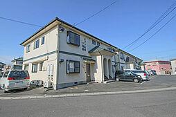 岡山県岡山市東区広谷の賃貸アパートの外観
