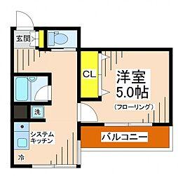 ロイヤルパレス[5階]の間取り