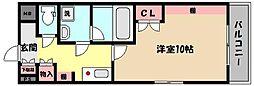 兵庫県神戸市東灘区御影石町1丁目の賃貸マンションの間取り