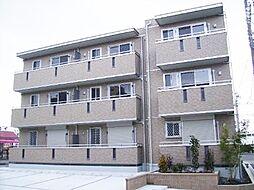 愛知県名古屋市緑区鳴海町字下汐田の賃貸アパートの外観