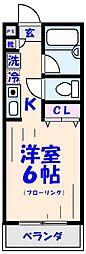 ピュアメゾンT&Y[2階]の間取り