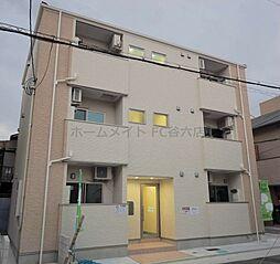 大阪府大阪市東成区中道4丁目の賃貸アパートの外観