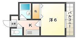 ルパッセURAKAWA[2階]の間取り