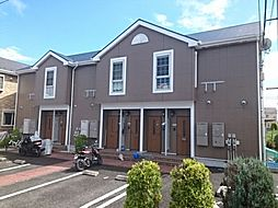 神奈川県藤沢市大庭の賃貸アパートの外観