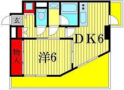 仙ノ倉ハイツ[3階]の間取り