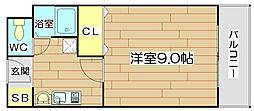 ユニバーサルコート[2階]の間取り