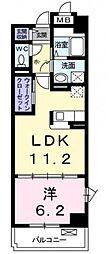 神奈川県横浜市都筑区すみれが丘の賃貸マンションの間取り
