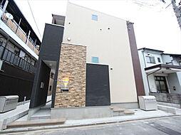 愛知県名古屋市北区東長田町2丁目の賃貸アパートの外観