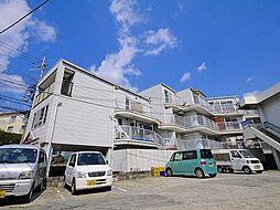 アべニュー東生駒[4階]の外観