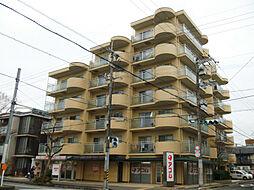 京都府京都市左京区一乗寺梅ノ木町の賃貸マンションの外観