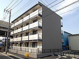 東京都足立区入谷4丁目の賃貸アパートの外観