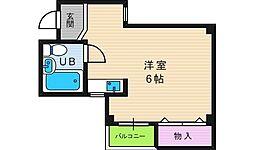 ルンルン桃ヶ池[2階]の間取り